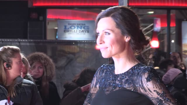 stockvideo's en b-roll-footage met minnie driver at 'i give it a year' european premiere at vue west end on january 24 2013 in london england - minnie driver