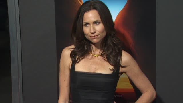 minnie driver at the '127 hours' premiere at beverly hills ca - minnie driver stock videos and b-roll footage