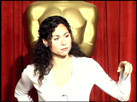 minnie driver at the 1998 academy awards luncheon at the beverly hilton in beverly hills california on march 9 1998 - minnie driver stock videos and b-roll footage