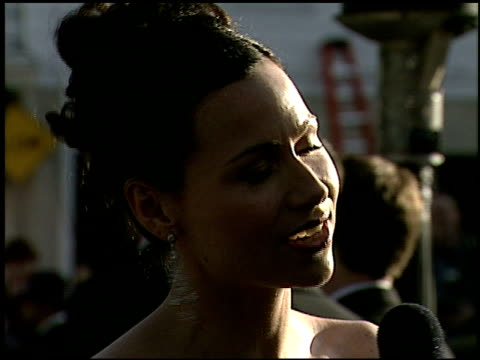 minnie driver at the 2000 academy awards vanity fair party at mortons in west hollywood california on march 26 2000 - minnie driver stock videos and b-roll footage