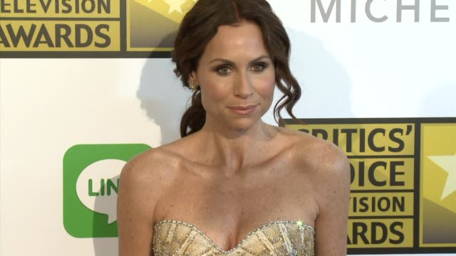 stockvideo's en b-roll-footage met minnie driver at the 2014 critics' choice television awards at the beverly hilton hotel on june 19 2014 in beverly hills california - minnie driver