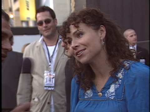 minnie driver at the lords of dogtown premiere at manns chinese theater hollywood in hollywood ca - minnie driver stock videos and b-roll footage