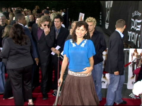 minnie driver at the 'lords of dogtown' world premiere on may 24 2005 - minnie driver stock videos and b-roll footage