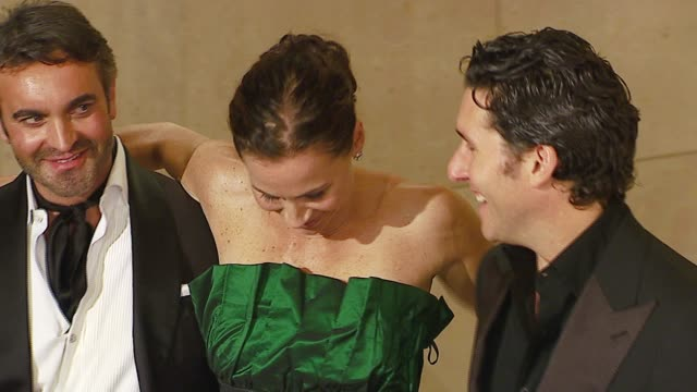 minnie driver at the mercedesbenz presents the 17th carousel of hope ball at the beverly hilton in beverly hills california on october 29 2006 - minnie driver stock videos and b-roll footage