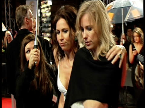stockvideo's en b-roll-footage met minnie driver at the orange british academy film awards 2011 at london england - minnie driver