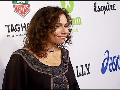 minnie driver at the oxfam annual fundraiser at esquire house 360 in beverly hills california on november 29 2006 - minnie driver stock videos and b-roll footage