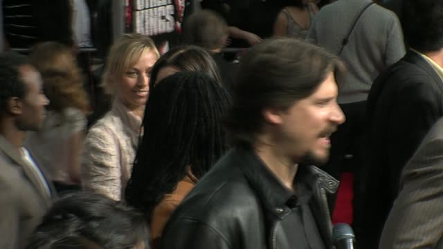 stockvideo's en b-roll-footage met minnie driver at the 'street kings' premiere on april 3 2008 - minnie driver