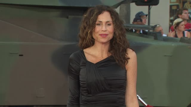 stockvideo's en b-roll-footage met minnie driver at the 'the ateam' premiere at hollywood ca - minnie driver