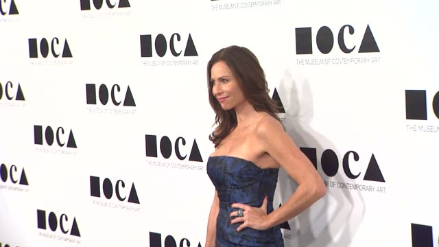 stockvideo's en b-roll-footage met minnie driver at the the museum of contemporary art los angeles presents the annual moca gala at los angeles ca - minnie driver