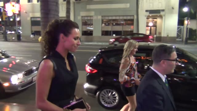 minnie driver at wood vine restaurant in hollywood at celebrity sightings in los angeles minnie driver at wood vine restaurant in on august 01 2013... - minnie driver stock videos and b-roll footage