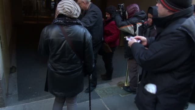 minnie driver leaving the today show in rockefeller center in celebrity sightings in new york - minnie driver stock videos and b-roll footage