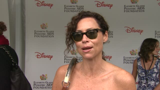 Minnie Driver on how she feels to be at the 22nd Annual Time for Heroes Celebrity Picnic why she wanted to come and support why the EGPAF is...