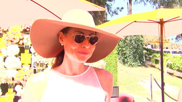 Minnie Driver on why she always loves coming to the Veuve Clicquot Polo Classic talks about her polo style and talks about her new film tv show and...