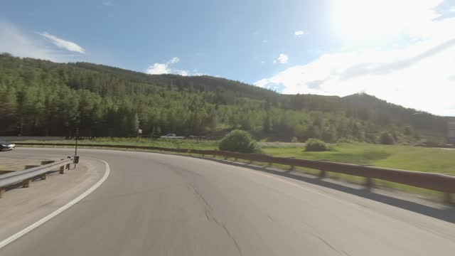 minturn 6 synced series rear highway 24 summer driving - number 6 stock videos & royalty-free footage