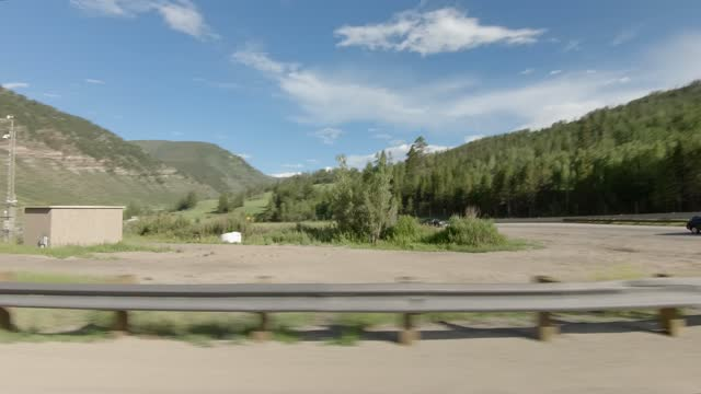 minturn 6 synced series right highway 24 summer driving - number 6 stock videos & royalty-free footage