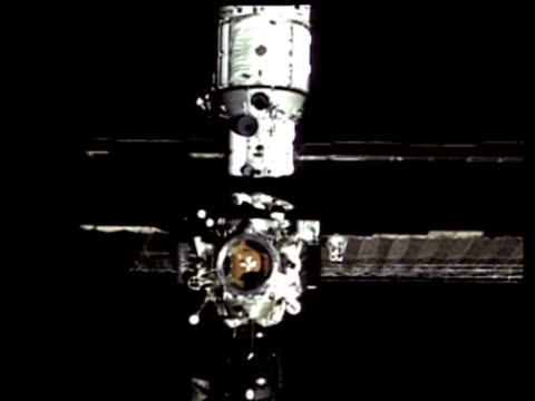 ms mir space station, nasa - mir space station stock-videos und b-roll-filmmaterial