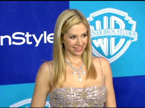 Mira Sorvino and Jon Voigt at the InStyle/Warner Brothers Golden Globes Party at the Beverly Hilton in Beverly Hills California on January 16 2006