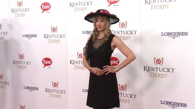 Mira Sorvino at 142nd Kentucky Derby at Churchill Downs on May 07 2016 in Louisville Kentucky