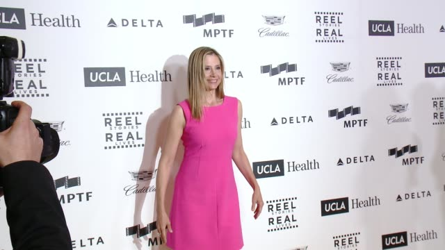 Mira Sorvino at 4th Annual Reel Stories Real Lives Benefiting The Motion Picture Television Fund at Milk Studios on April 25 2015 in Hollywood...