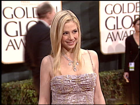 Mira Sorvino at the 2006 Golden Globe Awards at the Beverly Hilton in Beverly Hills California on January 16 2006