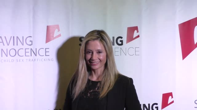 Mira Sorvino at the 5th Annual Saving Innocence Gala at Loews Hollywood Hotel at Celebrity Sightings in Los Angeles on October 01 2016 in Los Angeles...
