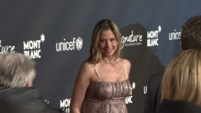 Mira Sorvino at the Montblanc Signature for Good Event In Association With UNICEF at Los Angeles CA