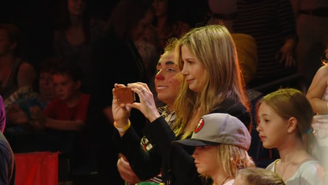 Mira Sorvino at the preshow event Los Angeles Celebrity Premiere Of Ringling Bros And Barnum Bailey Presents LEGENDS at Staples Center on July 10...