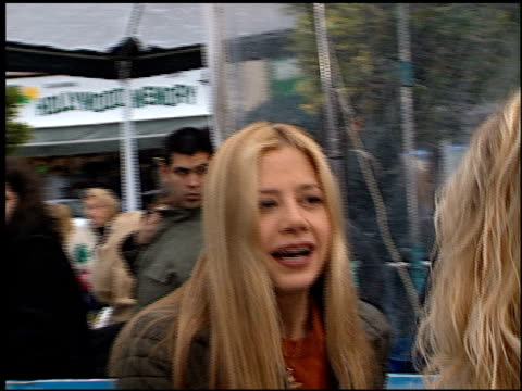 Mira Sorvino at the See Spot Run Premiere at Grauman's Chinese Theatre in Hollywood California on February 25 2001