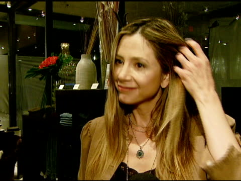 Mira Sorvino on the store the jeans and the book at the Paige Denim Book Launch at Paige Premium Denim Boutique in West Hollywood California on...