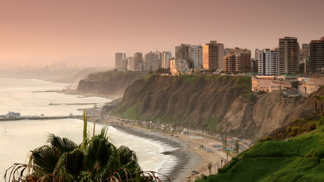 miraflores lima peru - lima peru stock videos and b-roll footage