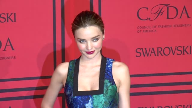 miranda kerr at 2013 cfda fashion awards arrivals at alice tully hall on june 03 2013 in new york new york - miranda kerr stock videos and b-roll footage