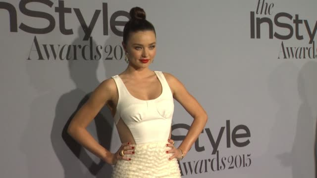 miranda kerr at instyle presents the inaugural 'instyle awards' october 26 2015 in los angeles california - miranda kerr stock videos and b-roll footage