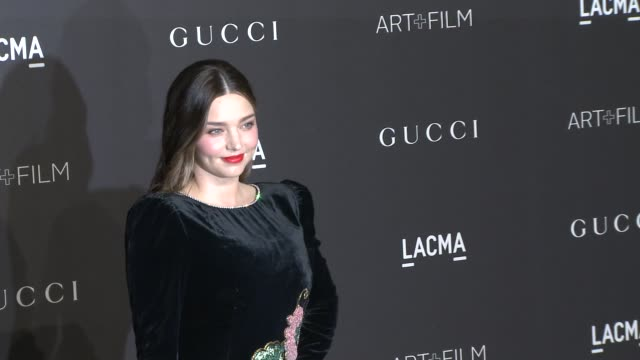 miranda kerr at the 2018 lacma art film gala honoring catherine opie guillermo del toro and presented by gucci at lacma on november 03 2018 in los... - miranda kerr stock videos and b-roll footage