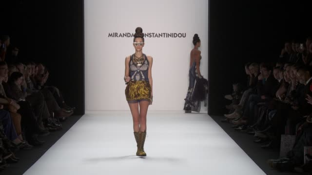 Miranda Konstantinidou MercedesBenz Berlin Fashion Week A/W 2013 on January 15 2013 in Berlin Federal Republic of Germany