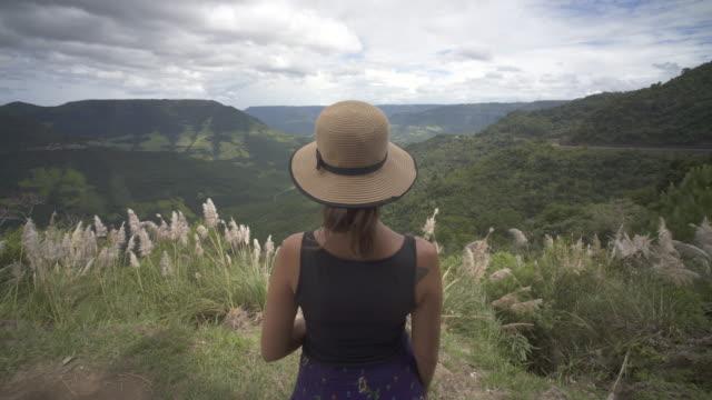 mirante da rota do sol, rio grande do sul, brazil - リオグランデドスル州点の映像素材/bロール