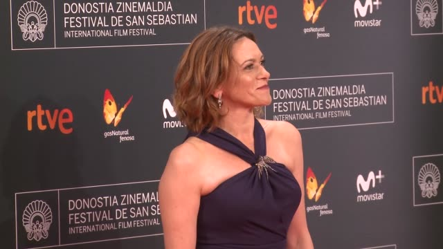 mireia gabilondo attends 'la fille de brest' premiere during 64th san sebastian international film festival at kursaal palace on september 16 2016 in... - fille de stock videos & royalty-free footage