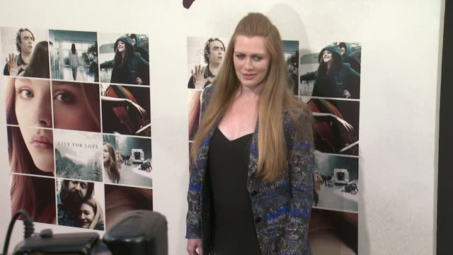 Mireille Enos at the If I Stay Los Angeles Premiere at TCL Chinese 6 Theatres on August 20 2014 in Hollywood California