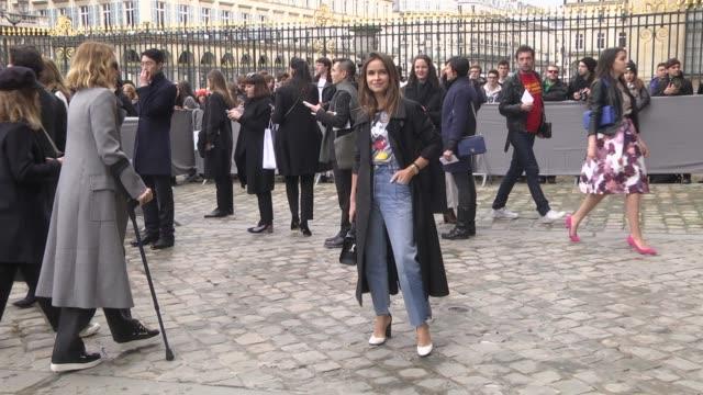 Miroslava Duma attends the Christian Dior show as part of the Paris Fashion Week Womenswear Fall/Winter 2016/2017 on March 4 2016 in Paris France