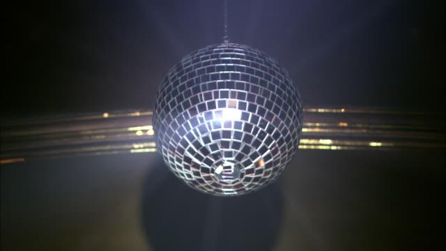 MS, LA, Mirror disco ball spinning, London, England