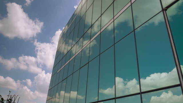 mirror reflection of a cloud - miami dade county stock videos and b-roll footage