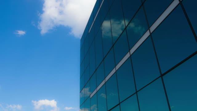 spiegel - office block exterior stock-videos und b-roll-filmmaterial