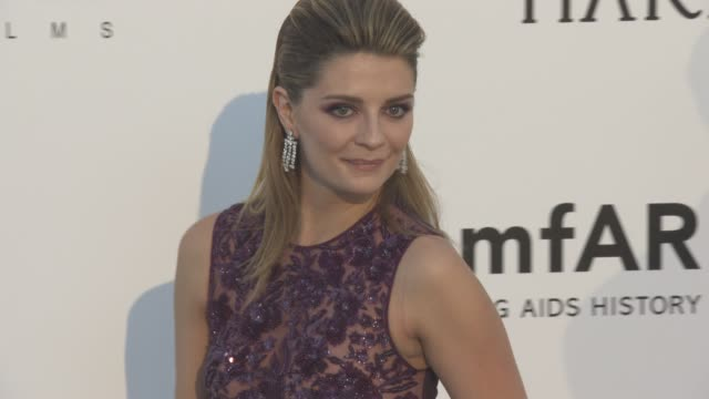 Mischa Barton at amfAR's 23rd Cinema Against AIDS Gala Arrivals at Hotel du CapEdenRoc on May 19 2016 in Cap d'Antibes France