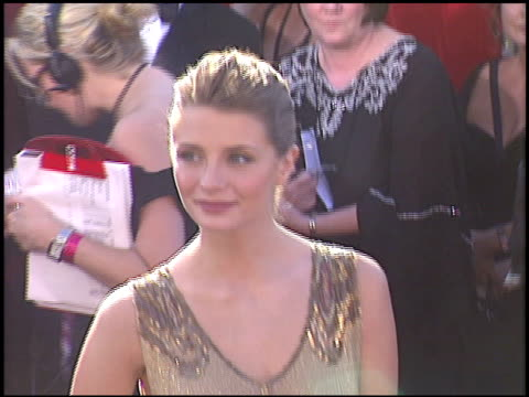 Mischa Barton at the 2004 Emmy Awards arrivals at the Shrine Auditorium in Los Angeles California on September 19 2004