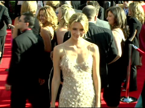 mischa barton at the 2005 emmy awards at the shrine auditorium in los angeles, california on september 18, 2005. - mischa barton stock videos & royalty-free footage
