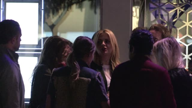 Mischa Barton at the Flaunt Magazine Party at Hakkasan in Beverly Hills in Celebrity Sightings in Los Angeles