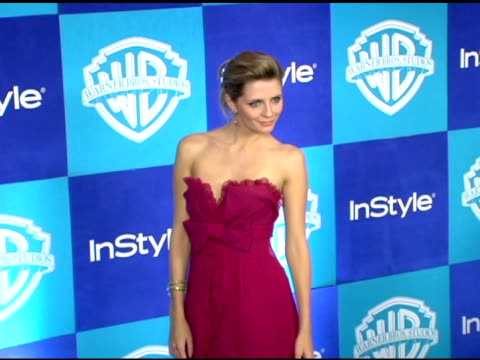 mischa barton at the instyle/warner brothers golden globes party at the beverly hilton in beverly hills, california on january 16, 2006. - mischa barton stock videos & royalty-free footage