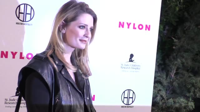mischa barton at the nylon magazine hosts muses and music party at no vacancy in hollywood in celebrity sightings in los angeles, - mischa barton stock videos & royalty-free footage