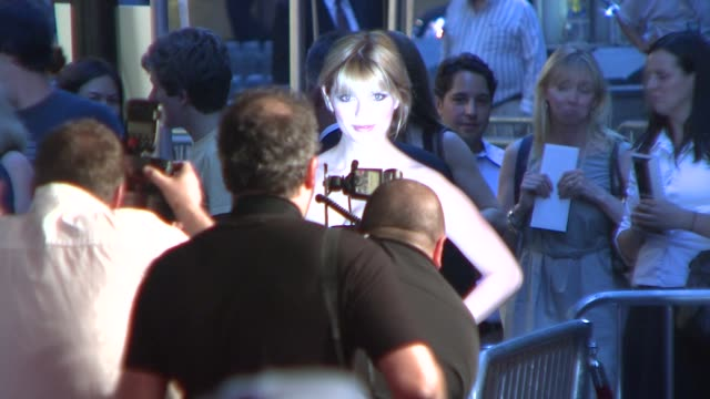 mischa barton at the 'the happening' new york premiere at new york ny. - mischa barton stock videos & royalty-free footage
