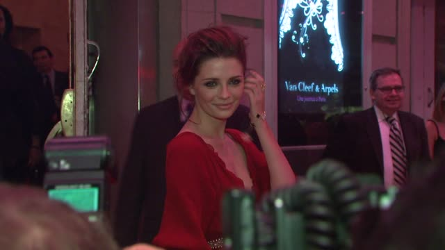 mischa barton at the 'une journee a paris' hosted by van cleef & arpels at the hammerstein ballroom in new york, new york on september 5, 2007. - mischa barton stock videos & royalty-free footage
