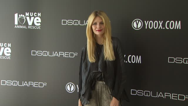 Mischa Barton at the yooxcom and DSQUARED2 Canine Couture Launch To Benefit Much Love Animal Rescue at Beverly Hills CA